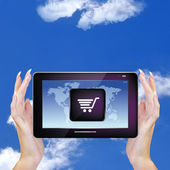 E-commerce.Internet — Stock Photo