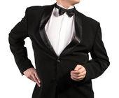Black Classic Tuxedo.Fashion — Stock Photo