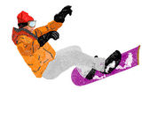 Extreme Snowboard — Stock Photo