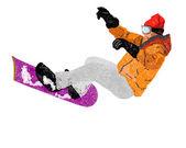Extreme Snowboard.Vector — Stock Vector