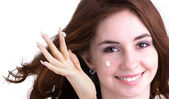 Natural Cream for Skin Face — Stock Photo