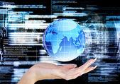 Подключение Интернет-технологии — Стоковое фото