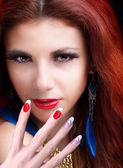 Manicure.Beauty Woman — Stock Photo
