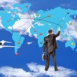 Air transport.Concept — Stock Photo #9410187