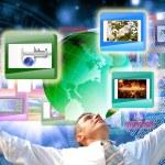 The technology Internet — Stock Photo #9588893