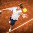 Royalty-Free Stock Photo: Tennis player