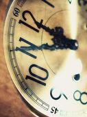 Mostrador de relógio velho — Foto Stock