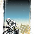 Cycling poster background — Stock Vector #51176089