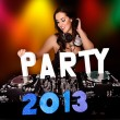 PARTY 2013 with sexy DJ — Stock Photo