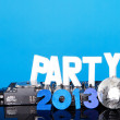 PARTY 2013 background with DJ deck — Stock Photo #14211403