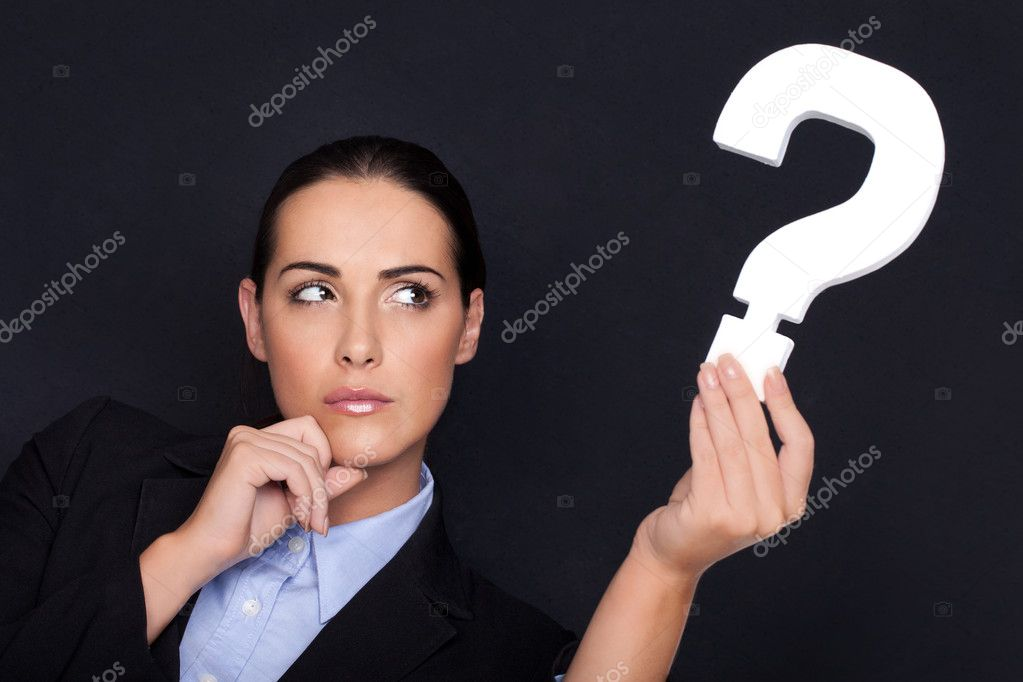 Black And White Question Mark Background a White Question Mark in