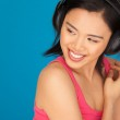 Teasing beautiful Asian woman — Stock Photo #15346603