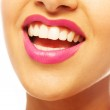 Laughing woman smile with great teeth. — Stock Photo