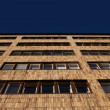 Facade of a modern apartment or office block — Foto Stock