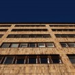Facade of a modern apartment or office block — Stock Photo