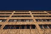 Facade of a modern apartment or office block — Stock Photo