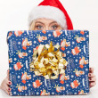 Beautiful christmas girl — Stock Photo #37158993