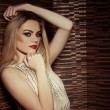Stock Photo: Beautiful sophisticated glamorous woman