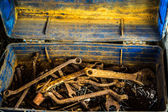 Rusty Old Tools — Stock Photo
