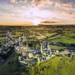 Corfe Castle sunrise — Stock Photo #50911487
