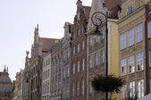 Město Gdaňsk, Polsko. — Stock fotografie