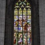 Medieval vitraux. — Stock Photo