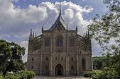 Barbara'nın Kilisesi saint. — Stok fotoğraf