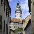 Cesky Krumlov castle. — Stock Photo