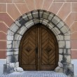 Gothic door. — Stock Photo