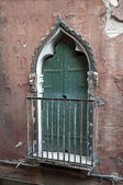 Venetian door. — Stock Photo