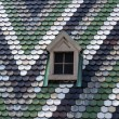 Stock Photo: Roof shingles.