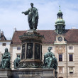 Emperor Franz II, Francis II statue. — Stock Photo #39166861
