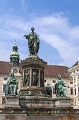 Emperor Franz II, Francis II statue. — Stock Photo