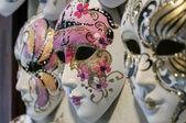Venetiaanse carnaval maskers. — Stockfoto