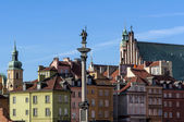 Warsaw Old Town. — Stock Photo