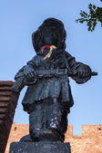 Denkmal der kleinen Aufständischen. — Stockfoto