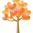 Heart tree — Stock Photo #3386993