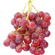 Fresh pink grape taken closeup.Isolated. - 图库照片