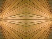 Wooden symmetrical background. — Stock Photo