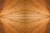 Abstract symmetrical wooden slats background. — Stock Photo