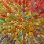 Multicolored square shape geometric background. — Stock Photo