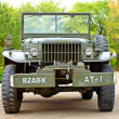 Cars Dodge WC61 US Army, historical reenactment of WWII. — Stock Photo