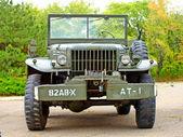 Automobili dodge wc61 noi esercito, rievocazione storica della seconda guerra mondiale. — Foto Stock