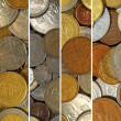 Coins collage. — Stock Photo #33148045