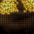 Yellow cube abstract background. — Stock Photo #33148093