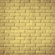 Yellow brick wall background. — Stock Photo