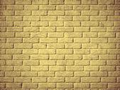 Yellow brick wall background. — Stock Photo
