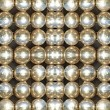 Stock Photo: Shining metallic balls.Abstract background.