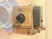 Old photocamera.Digitally generated image. — Stock Photo