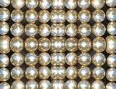 Shining metallic balls.Abstract background. — Stock Photo